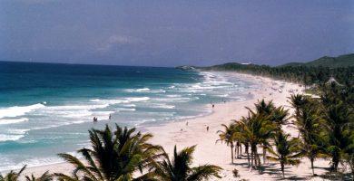 Donde esta Playa El Agua en Isla Margarita. Ubicacion de Playa El Agua