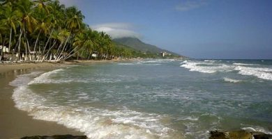 Donde esta Playa Guacuco en Isla Margarita. Mapa de ubicación de Playa Guacuco