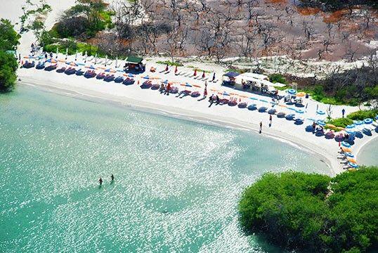 Donde esta Playa Paraiso en Isla Margarita. Ubicacion de Playa Paraiso