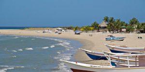 Donde esta Playa Punta Arena en Isla Margarita. Ubicacion de Playa Punta Arena