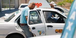 Taxi en isla Margarita