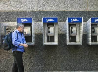 Telefonos publicos en Isla Margarita