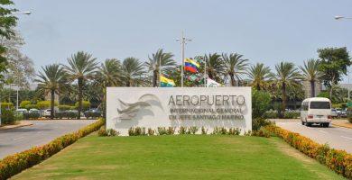 Mapa de Isla Margarita aeropuerto