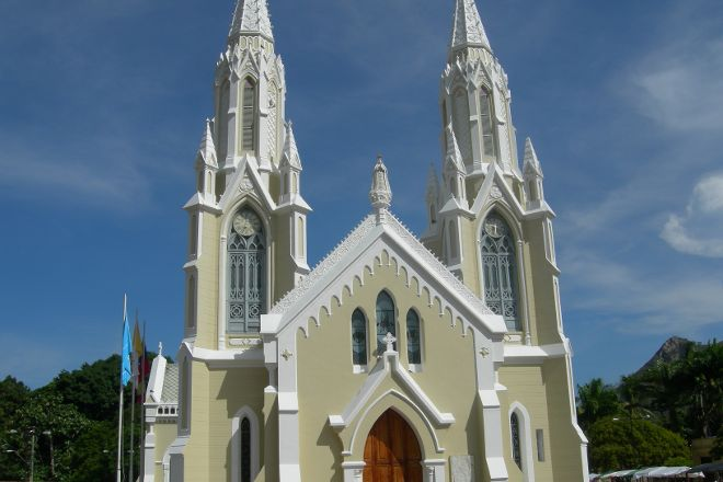 Basílica Virgen del Valle en Isla Margarita