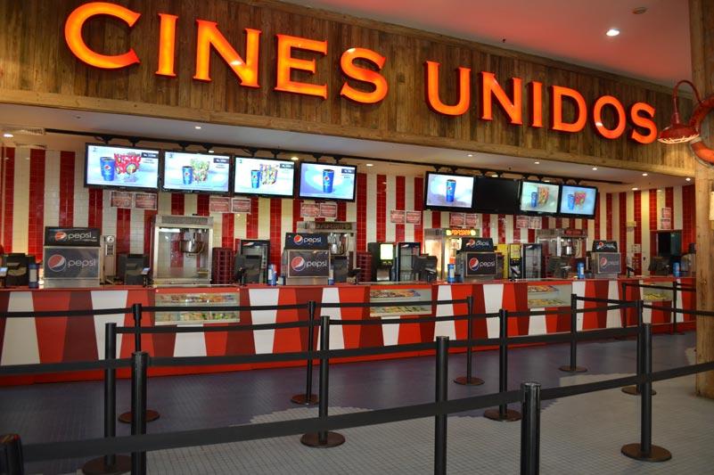 Cines Unidos en Centro Comercial Sambil Margarita en Isla Margarita