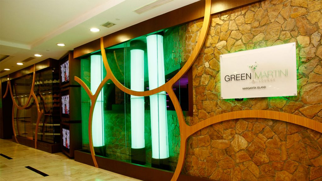 Green Martini Restaurant & Lounge en Isla Margarita