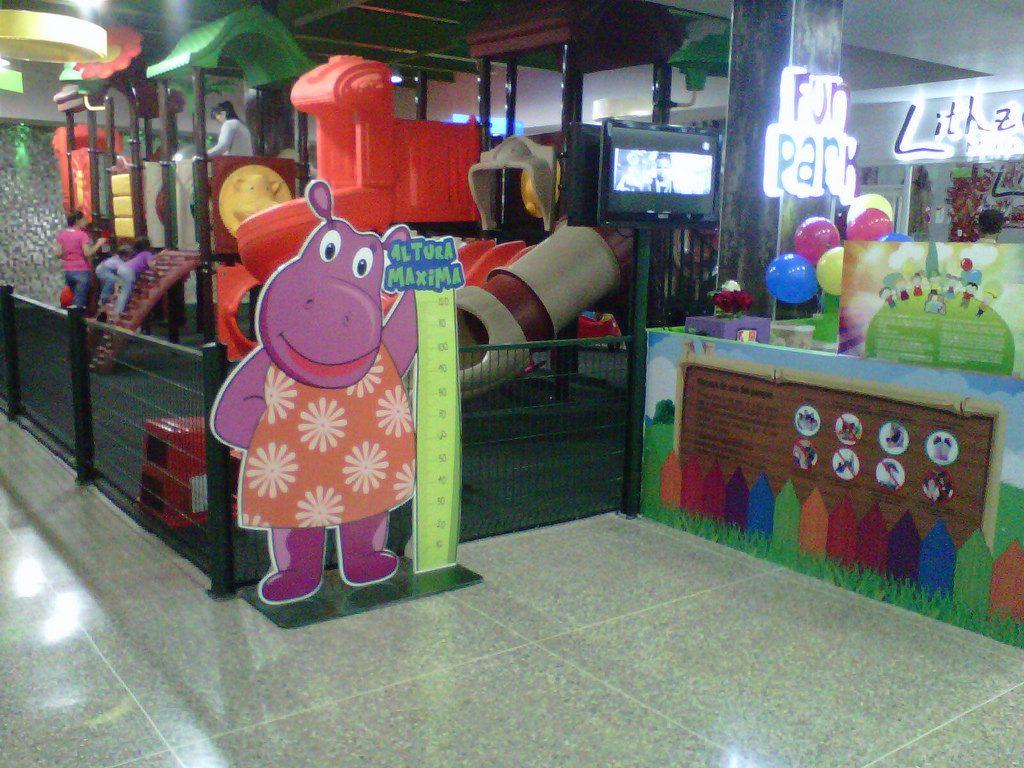 Parque Infantil Centro Comercial Ecocenter en Isla Margarita