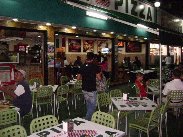Pida Pizza Playa El Angel en Isla Margarita