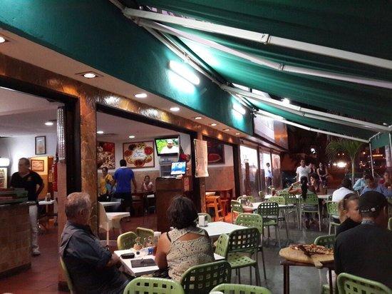 Pida Pizza de la Bella Napoli en Isla Margarita