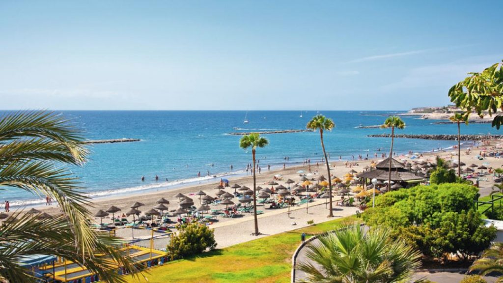 Playa Las Americas en Tenerife