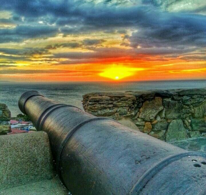 Puesta de sol en Fortín de La Galera