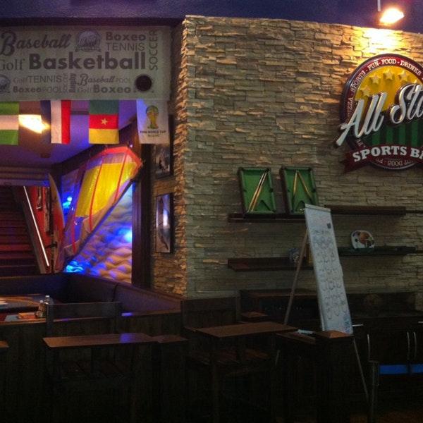 Restaurante All Stars Sports Bar en Isla Margarita