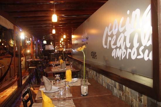 Restaurante Cocina Creativa Ambrosias en Isla Margarita