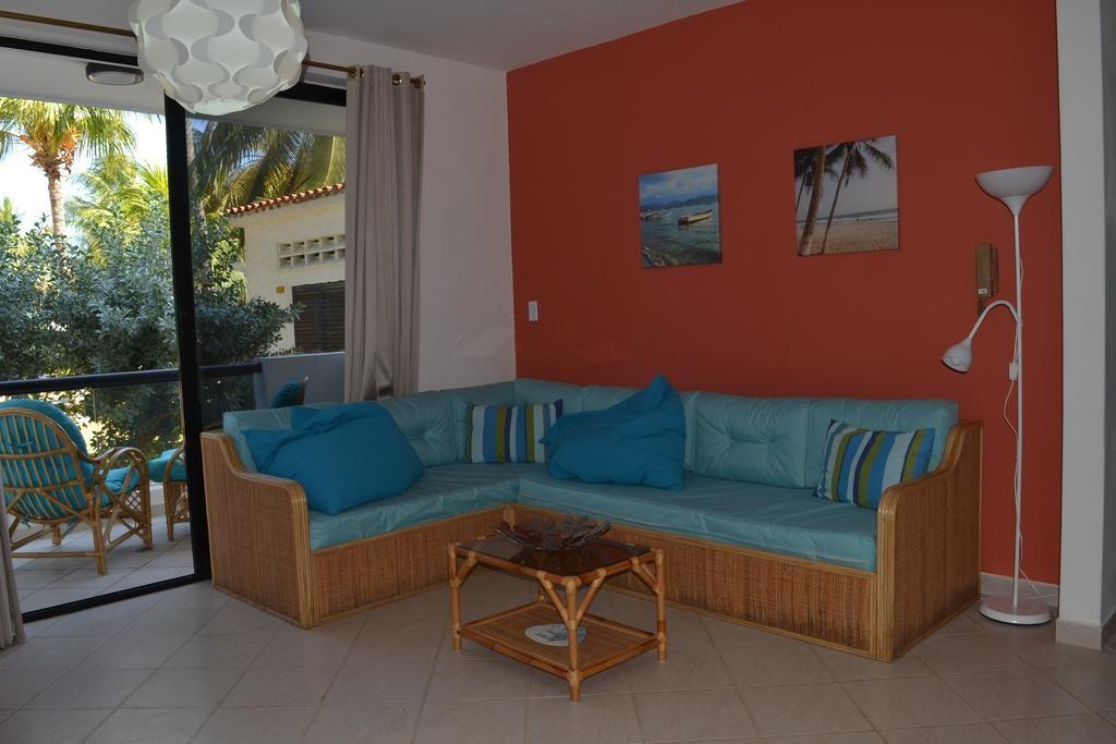 Salon de los apartamentos Jazmin en Playa El Agua Isla Margarita