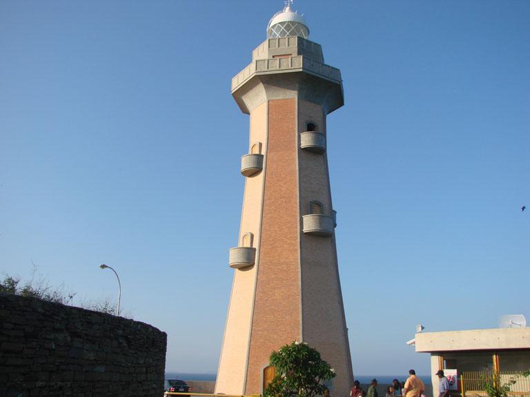 Torre del Faro Punta Ballena en Pampatar Isla Margarita