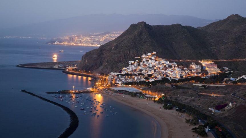 Donde esta ubicada Tenerife, en España