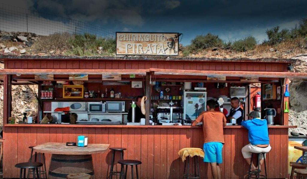 Chiringuito Pirata Playa La Tejita