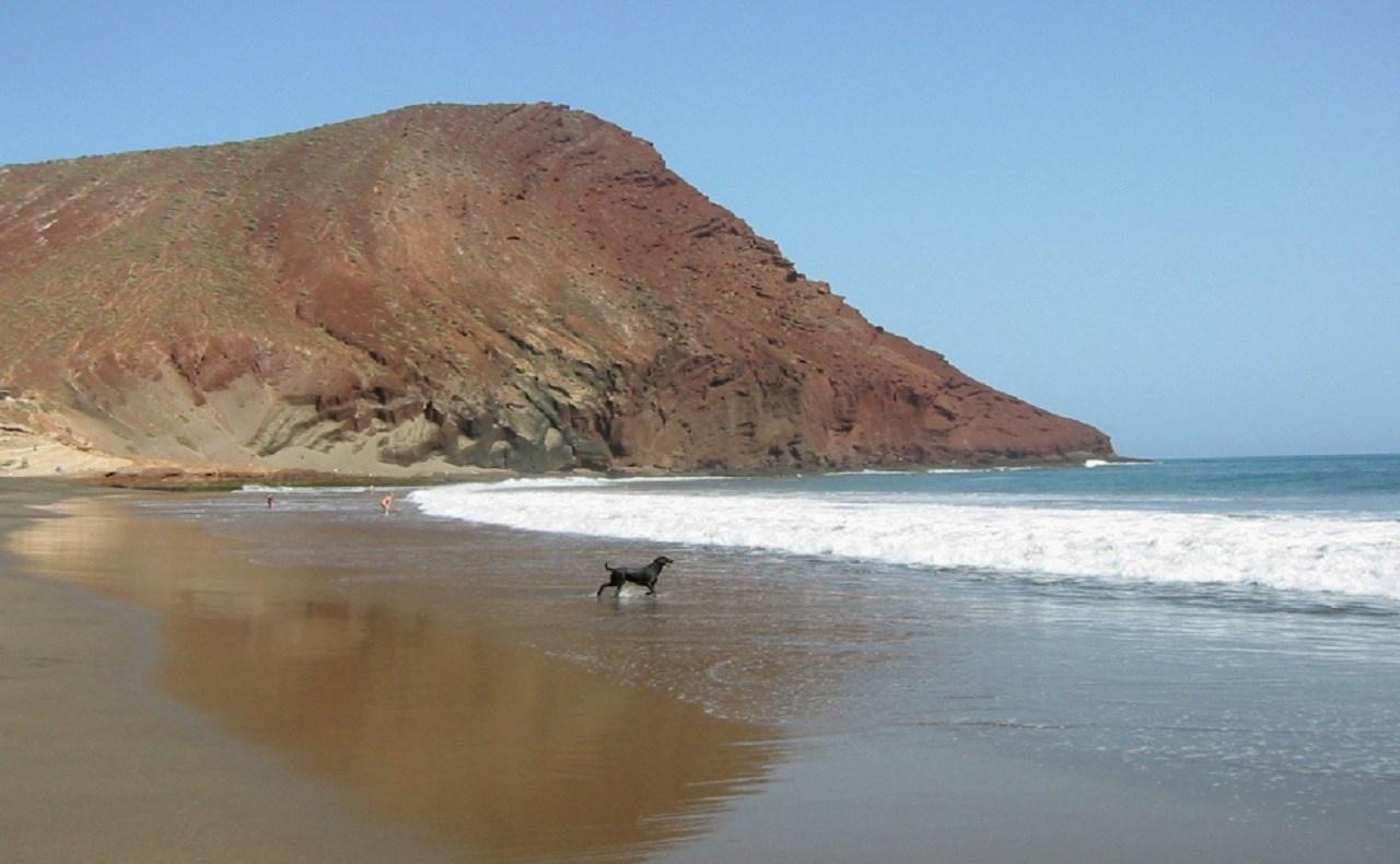 Playa El Confital en Tenerife