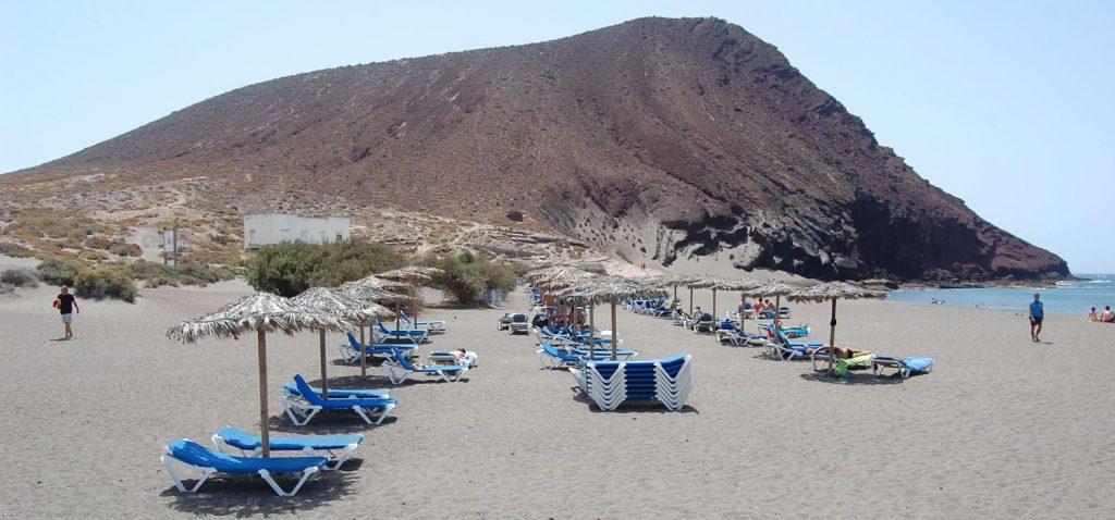 Playa La Tejita Montaña Roja