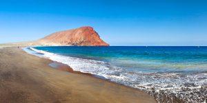 Playa La Tejita en El Medano