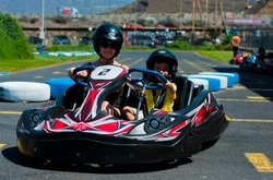 Tenerife con niños: Biplaza Karting Club Tenerife