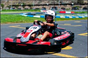 Tenerife con niños: cadete senior karting club Tenerife