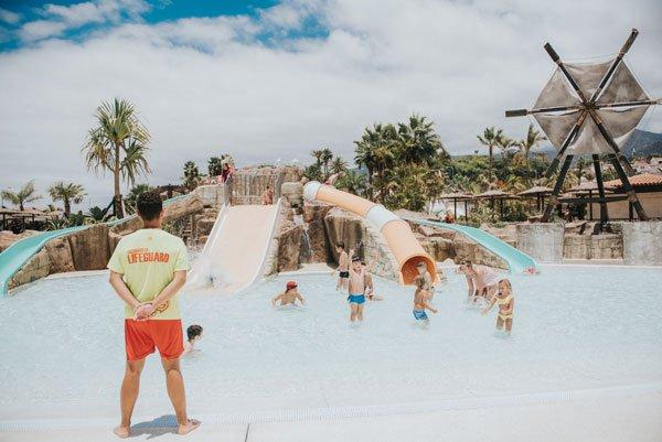 Tenerife con niños: Isla Aventura Aqualand Costa Adeje