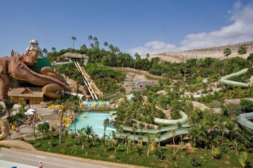 Tenerife con niños: Jungle Snake Siam Park