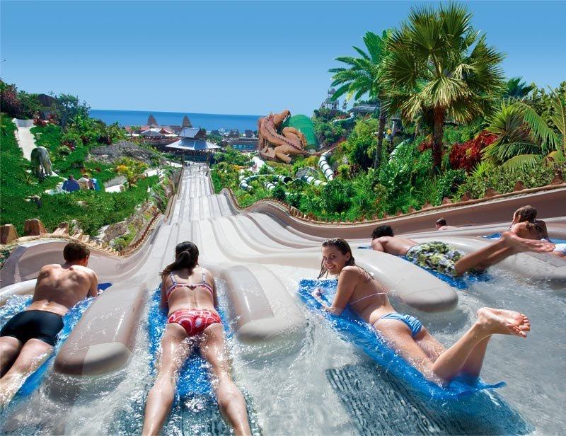 Tenerife con niños: Naga Racer Siam Park