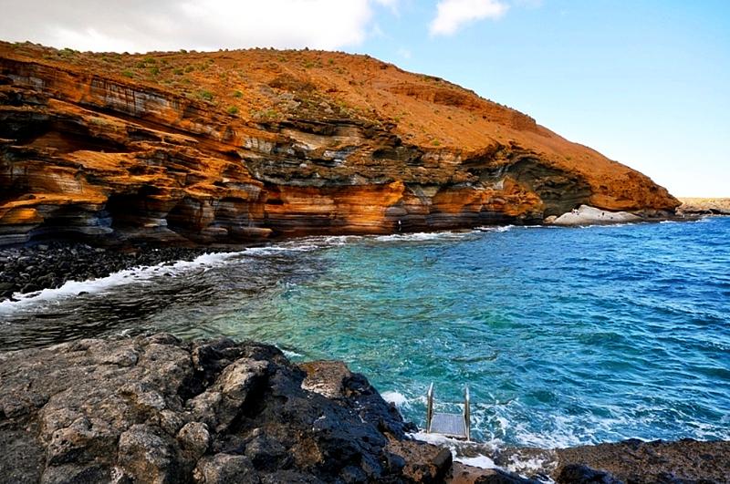 Playas de Tenerife: Playa Amarilla San Miguel de Abona Tenerife