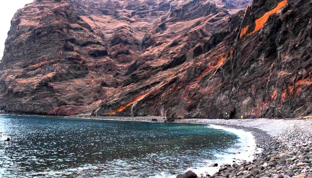 Playas de Tenerife: Playa Barranco Seco Santiago del Teide Tenerife