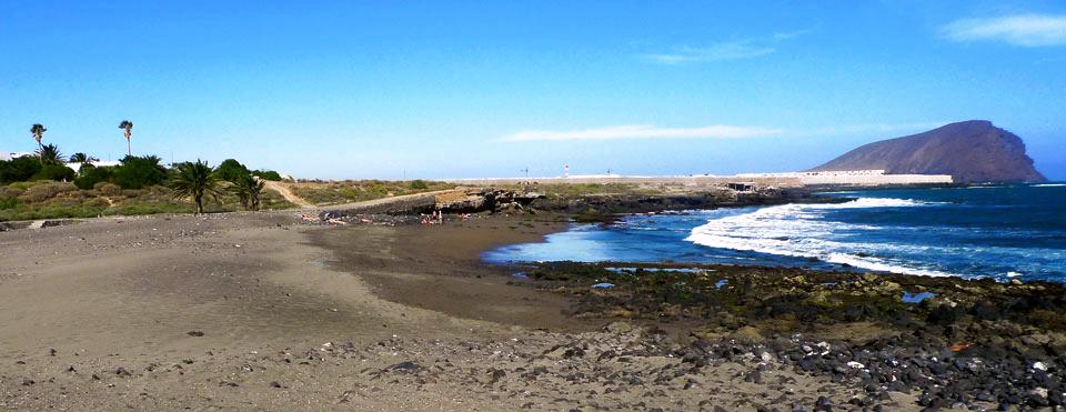 Playas de Tenerife: Playa Cha Siveira Playa la Mareta El Medano Granadilla de Abona Tenerife