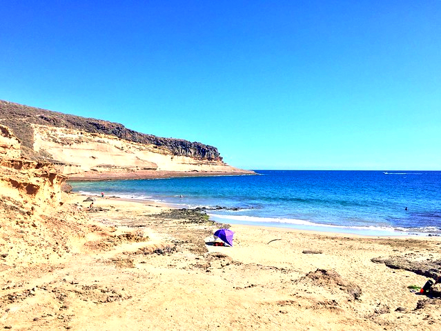 Playas de Tenerife: Playa Diego Hernández Adeje Tenerife