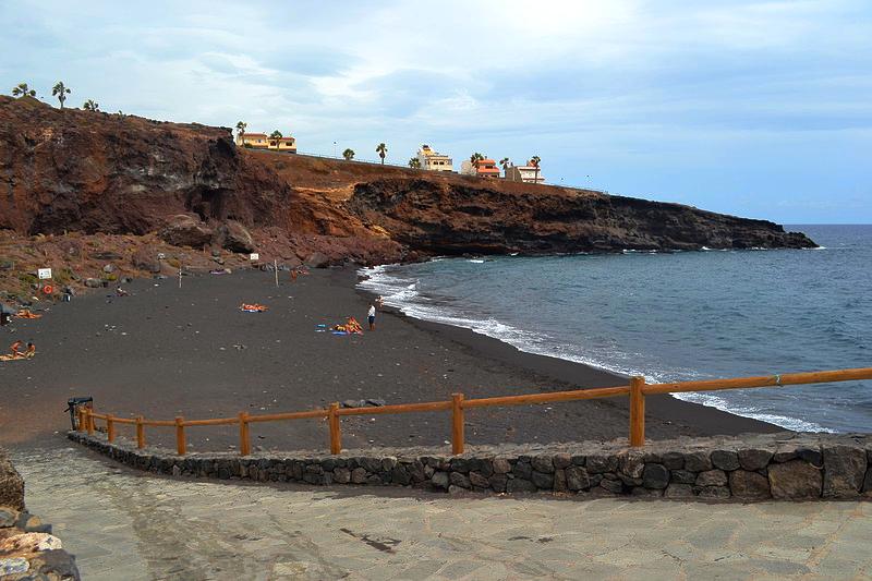 Playas de Tenerife: Playa El Abrigo Fasnia Tenerife