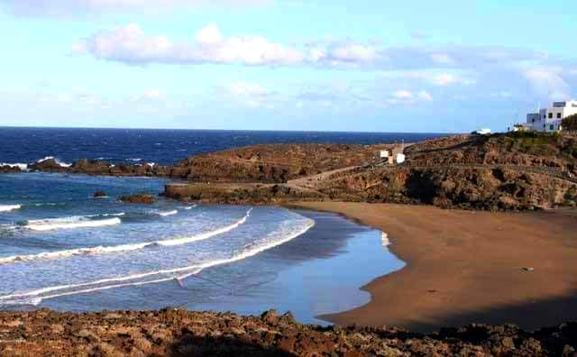 Playas de Tenerife: Playa Grande Arico Tenerife