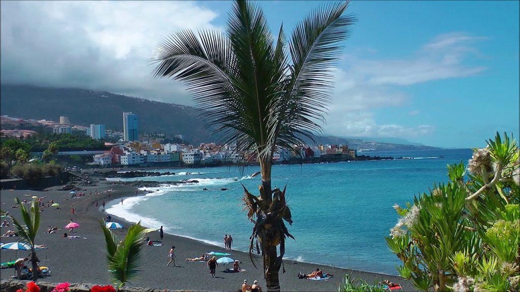 Playas de Tenerife: Playa Jardin Puerto de la Cruz Tenerife