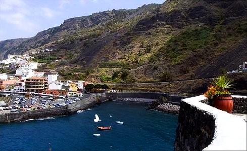 Playas de Tenerife: Playa de las Aguas Garachico Tenerife