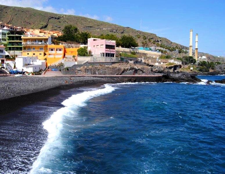 Playas de Tenerife: Playa las Caletillas Candelaria Tenerife