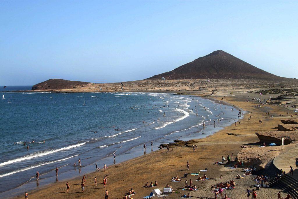 Playas de Tenerife: Playa Leocadio Machado El Medano Granadilla de Abona Tenerife