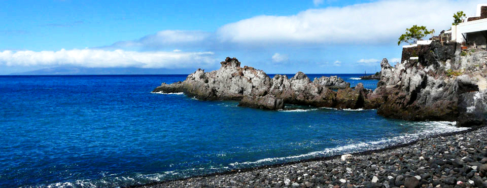 Playas de Tenerife: Playa Méndez Alcala Guia de Isora Tenerife