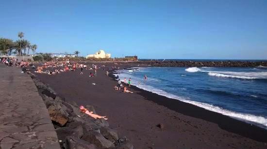 Playas de Tenerife: Playa Martianez Puerto de la Cruz Tenerife