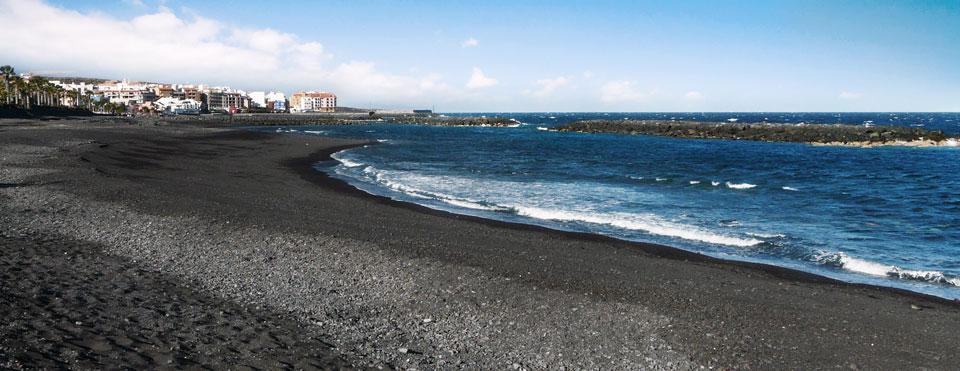 Playas de Tenerife: Playa Punta Blanca Guia de Isora Tenerife