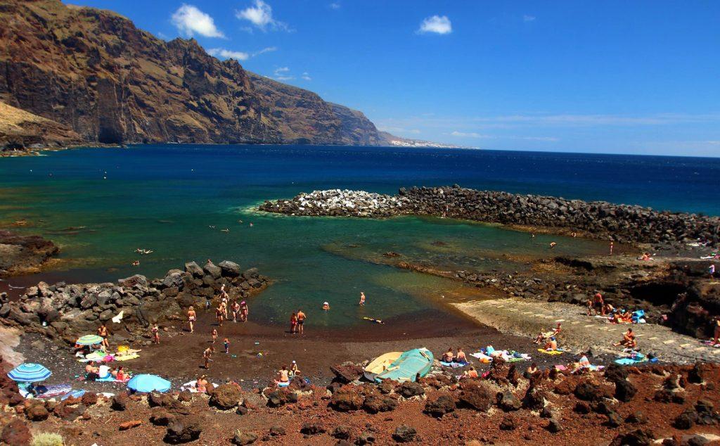 Playas de Tenerife: Playa Punta de Teno Buenavista del Norte Tenerife