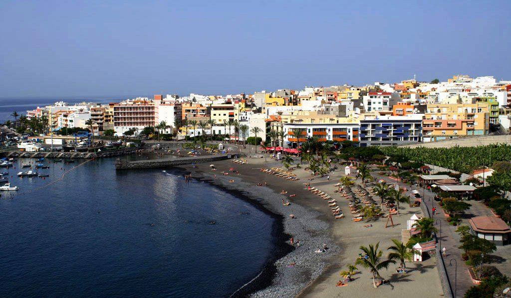 Playas de Tenerife: Playa San Juan Guia de Isora Tenerife