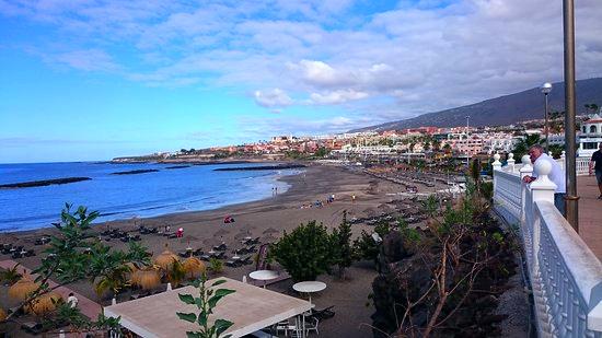 Playas de Tenerife: Playa Torviscas Costa Adeje Tenerife