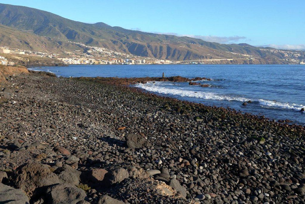 Playas de Tenerife: Playa de Chimisay Playa del Socorro Guimar Tenerife