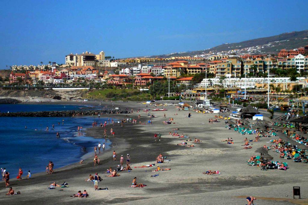 Playas de Tenerife: Playa de Fañabe Costa Adeje Tenerife