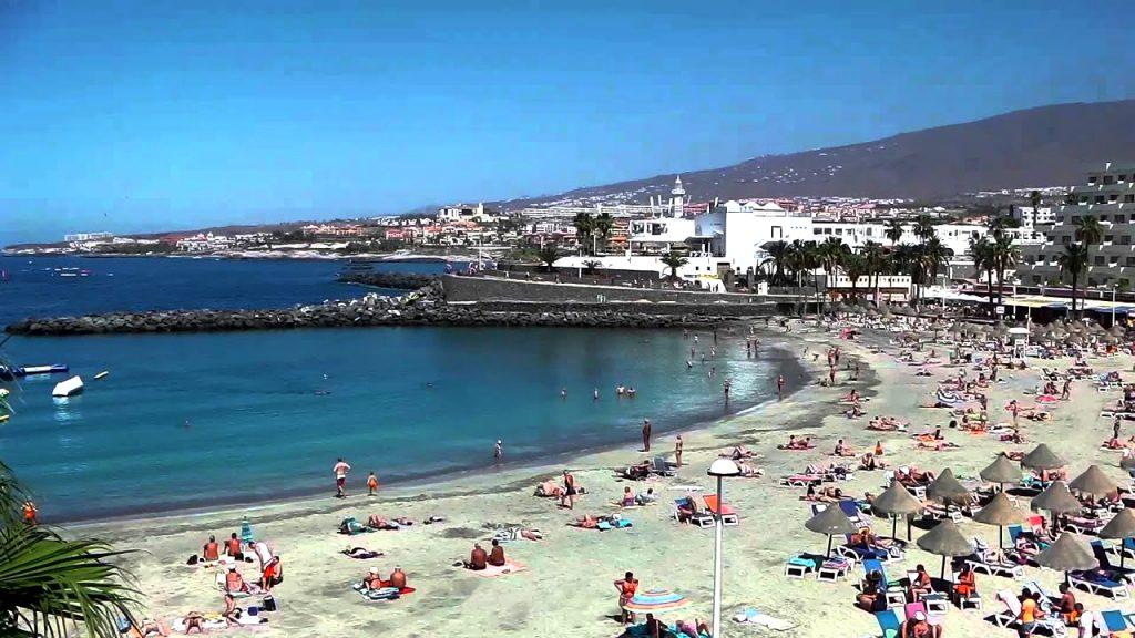 Playas de Tenerife: Playa de La Pinta Puerto Colon Costa Adeje Tenerife