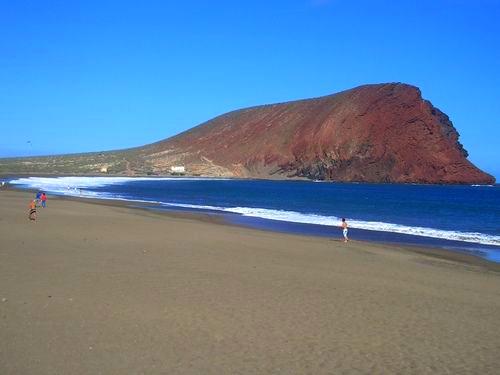 Playas de Tenerife: Playa de La Tejita El Medano Granadilla de Abona Tenerife