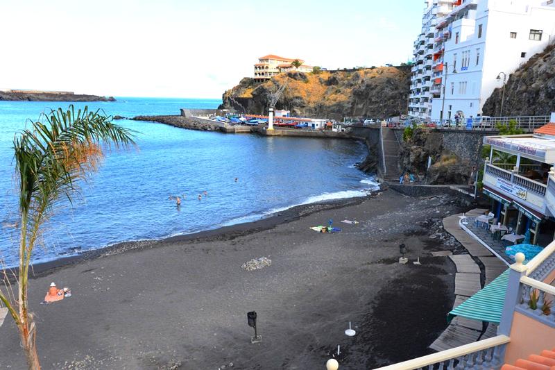 Playas de Tenerife: Playa de San Marcos Icod de los Vinos Tenerife